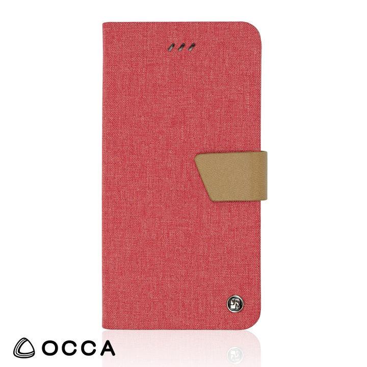 iPhone XR ケース リネン素材を使用した、ナチュラルで繊細な手帳型ケース/LINEN 2018 ピンク iPhone XR_0