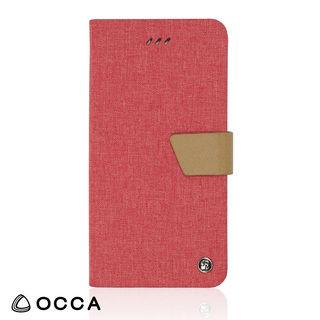 リネン素材を使用した、ナチュラルで繊細な手帳型ケース/LINEN 2018 ピンク iPhone XR