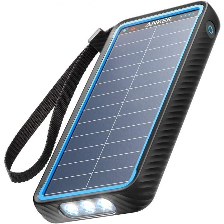 Anker PowerCore Solar 10000 防塵防水耐衝撃 ソーラー充電機能 モバイルバッテリー_0