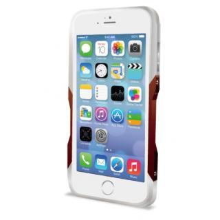 【9月中旬】GRAVITY CASTRUM シルバー×レッド iPhone 6バンパー