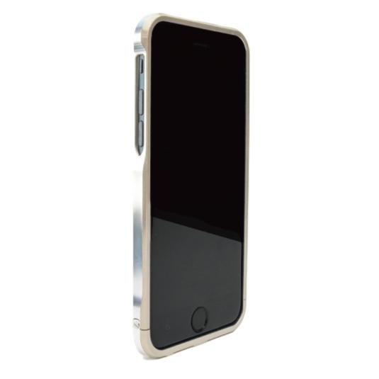 【iPhone6ケース】ツートンカラーがかっこいい GRAVITY SWORD α シャンパンゴールド iPhone 6バンパー_0