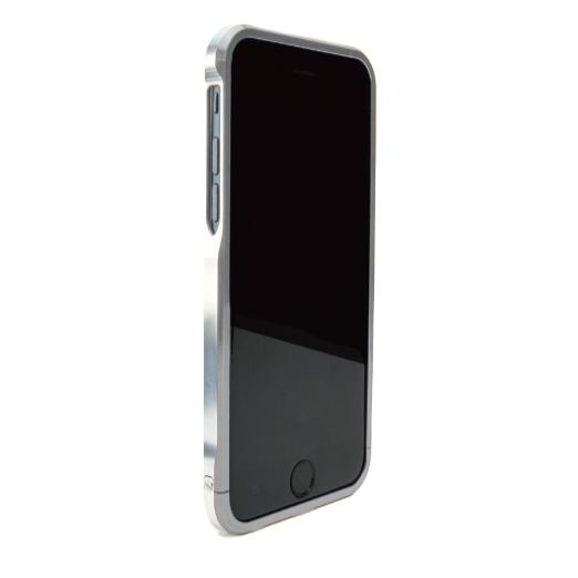 ツートンカラーがかっこいい GRAVITY SWORD α スチール・グレイ iPhone 6バンパー