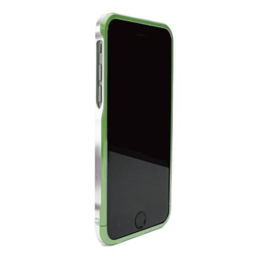 iPhone6 ケース ツートンカラーがかっこいい GRAVITY SWORD α フォレスト・グリーン iPhone 6バンパー_0