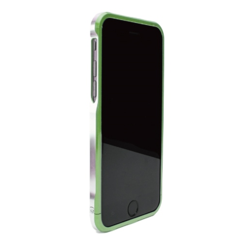 ツートンカラーがかっこいい GRAVITY SWORD α フォレスト・グリーン iPhone 6バンパー