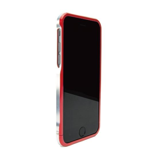 【iPhone6ケース】ツートンカラーがかっこいい GRAVITY SWORD α ノーブル・レッド iPhone 6バンパー_0