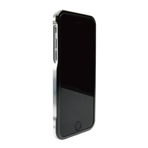 iPhone6 ケース ツートンカラーがかっこいい GRAVITY SWORD α オフ・ブラック iPhone 6バンパー_0