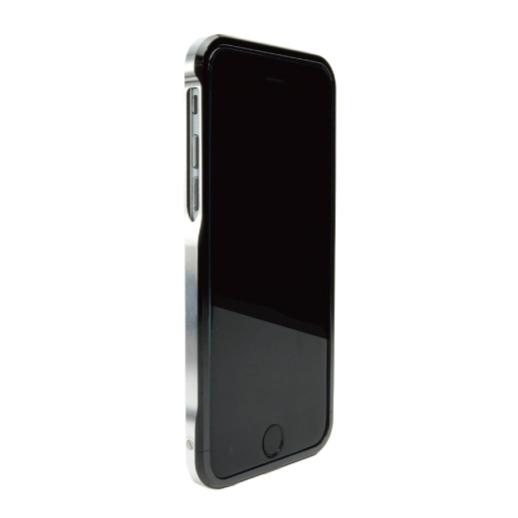 【iPhone6ケース】ツートンカラーがかっこいい GRAVITY SWORD α オフ・ブラック iPhone 6バンパー_0