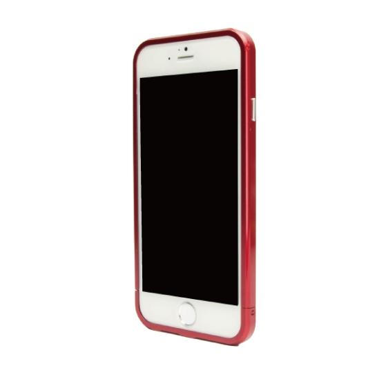 ネジなしバンパー GRAVITY GRACE レッド iPhone 6バンパー