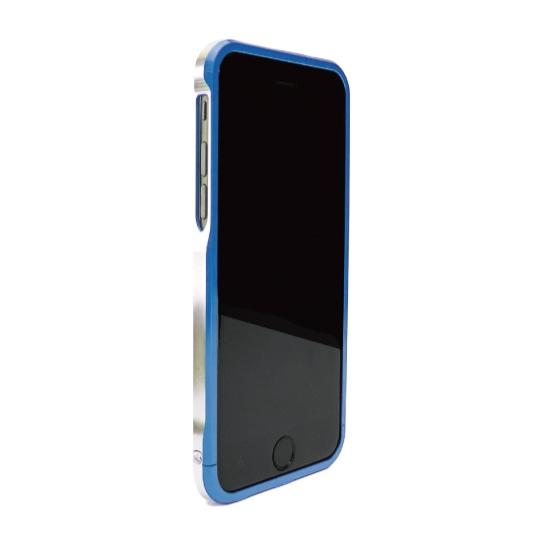iPhone6 ケース ツートンカラーがかっこいい GRAVITY SWORD α インディゴ・ブルー iPhone 6バンパー_0