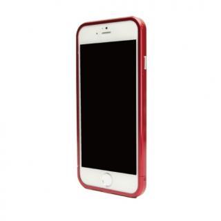 【9月中旬】ネジなしバンパー GRAVITY GRACE レッド iPhone 6バンパー