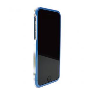 ツートンカラーがかっこいい GRAVITY SWORD α インディゴ・ブルー iPhone 6バンパー