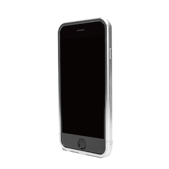 ネジなしバンパー GRAVITY GRACE シルバー iPhone 6バンパー