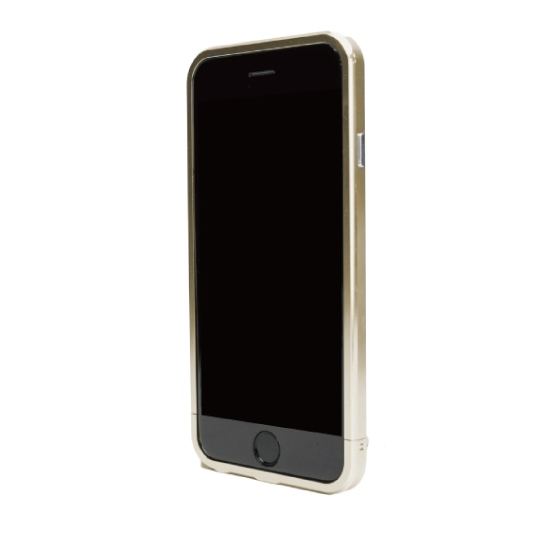 ネジなしバンパー GRAVITY GRACE ゴールド iPhone 6バンパー