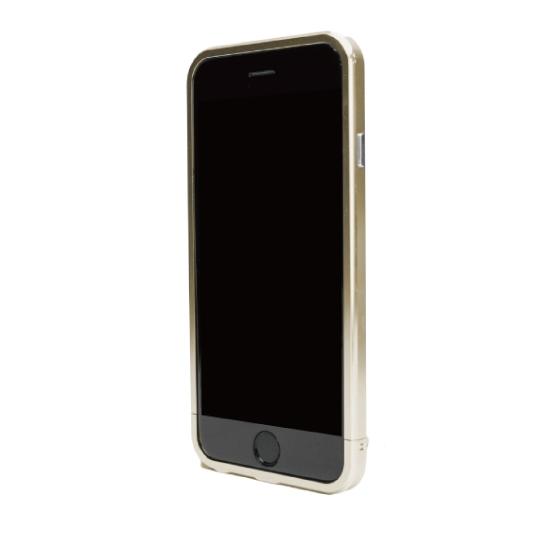 【iPhone6ケース】ネジなしバンパー GRAVITY GRACE ゴールド iPhone 6バンパー_0