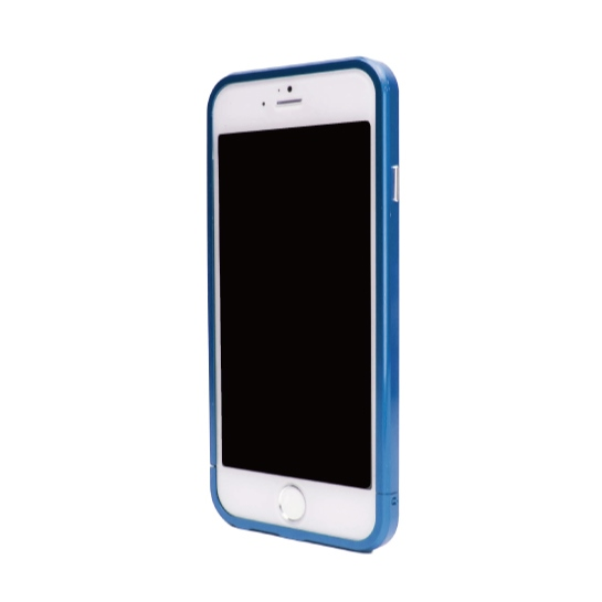 ネジなしバンパー GRAVITY GRACE ブルー iPhone 6バンパー