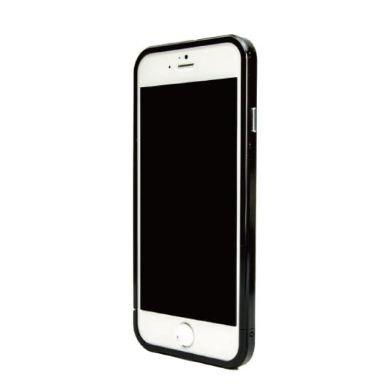 【iPhone6ケース】ネジなしバンパー GRAVITY GRACE ブラック iPhone 6バンパー_0