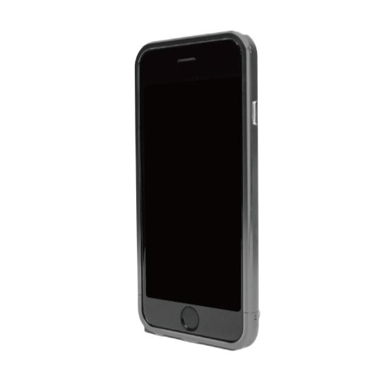 ネジなしバンパー GRAVITY GRACE グレー iPhone 6バンパー