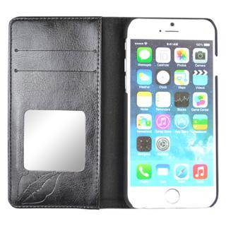 【iPhone6s/6ケース】VIVAYOU 手帳型ケース リップ/ブラック iPhone 6s/6_2