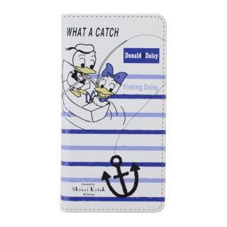 iPhone6s/6 ケース Shinzi Katoh × Disneyコラボ 手帳型ケース ドナルド&デイジー フレンチマリン iPhone 6s/6