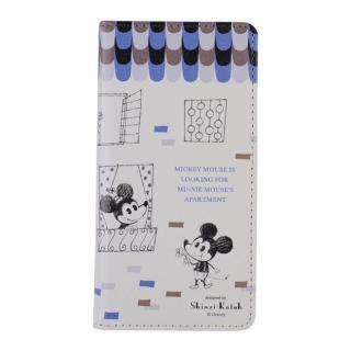 iPhone6s/6 ケース Shinzi Katoh × Disneyコラボ 手帳型ケース ミッキー&ミニー Windows iPhone 6s/6