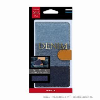 デニムファブリック 手帳型ケース DENIMインディゴ3色 iPhone 7