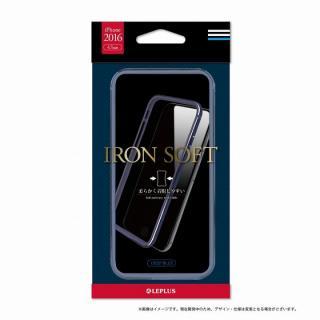 シリコン+アルミバンパー Iron Soft ディープブルー iPhone 7