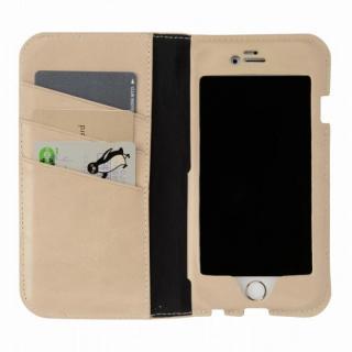 iPhone6s/6 ケース 本革製手帳型ケース FIT ベージュ iPhone 6s/6_0