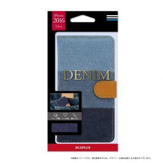 デニムファブリック 手帳型ケース DENIMインディゴ3色 iPhone 7 Plus