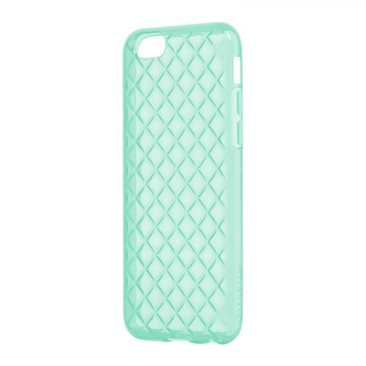 iPhone6s/6 ケース ダイヤカットデザインTPUケース [TPU DIA] エメラルドグリーン iPhone 6s/6_0