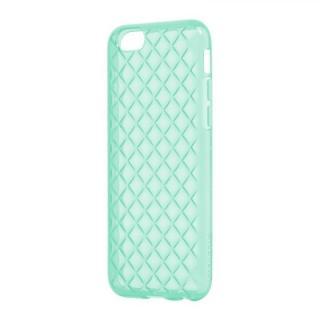 iPhone6s/6 ケース ダイヤカットデザインTPUケース [TPU DIA] エメラルドグリーン iPhone 6s/6
