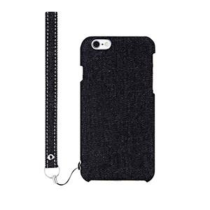 ファブリックケース [NUNO] ブラックデニム iPhone 6s