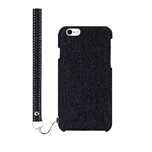 iPhone6s ケース ファブリックケース [NUNO] ブラックデニム iPhone 6s