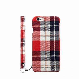 ファブリックケース [NUNO] レッドチェック iPhone 6s Plus