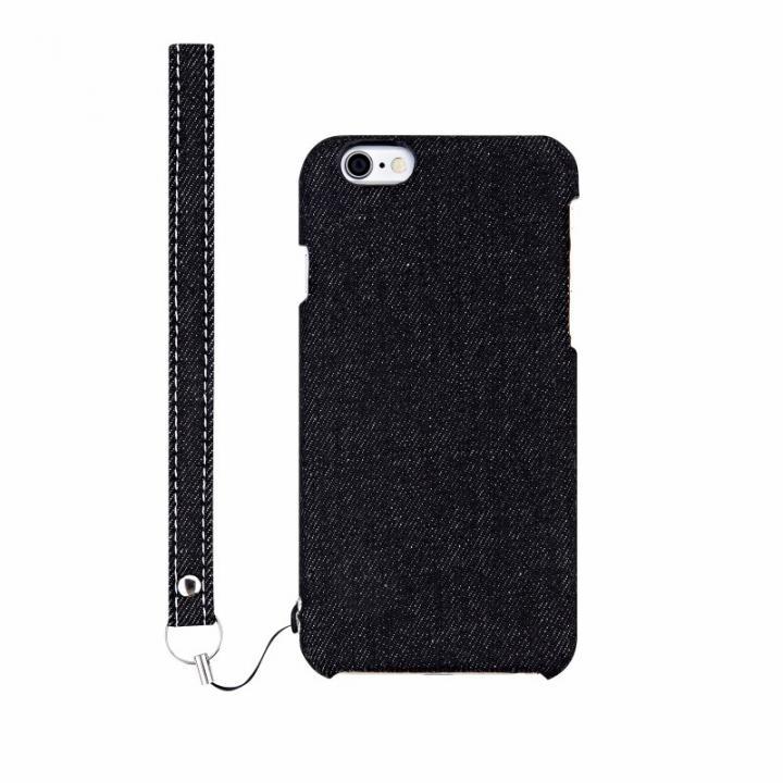 iPhone6s Plus ケース ファブリックケース [NUNO] ブラックデニム iPhone 6s Plus_0
