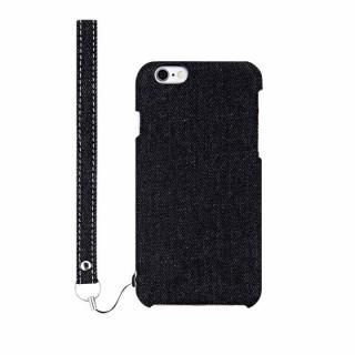 ファブリックケース [NUNO] ブラックデニム iPhone 6s Plus