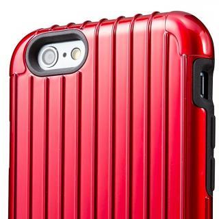【iPhone6ケース】2重構造で保護 ICカード対応ハイブリッドケース レッド iPhone 6ケース_1