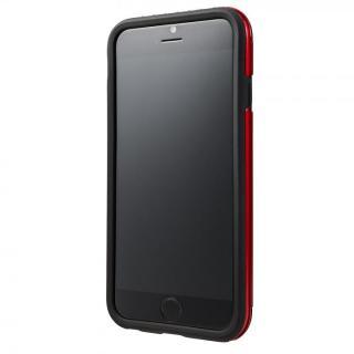 【iPhone6ケース】2重構造で保護 ICカード対応ハイブリッドケース レッド iPhone 6ケース_2