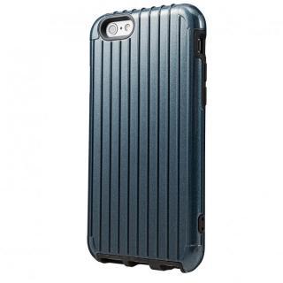 2重構造で保護 ICカード対応ハイブリッドケース ネイビー iPhone 6ケース