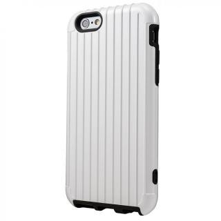 2重構造で保護 ICカード対応ハイブリッドケース ホワイト iPhone 6ケース