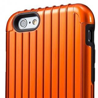 【iPhone6ケース】2重構造で保護 ICカード対応ハイブリッドケース オレンジ iPhone 6ケース_1