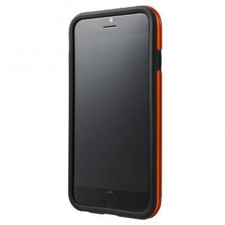 【iPhone6ケース】2重構造で保護 ICカード対応ハイブリッドケース オレンジ iPhone 6ケース_2