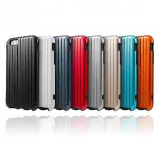 【iPhone6ケース】2重構造で保護 ICカード対応ハイブリッドケース レッド iPhone 6ケース_4