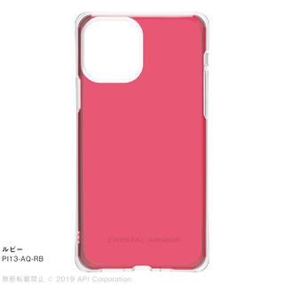 iPhone 11 Pro ケース CRYSTAL AQUA 耐衝撃クリアケースルビー iPhone 11 Pro【9月中旬】