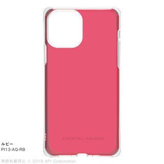 iPhone 11 Pro ケース CRYSTAL AQUA 耐衝撃クリアケースルビー iPhone 11 Pro