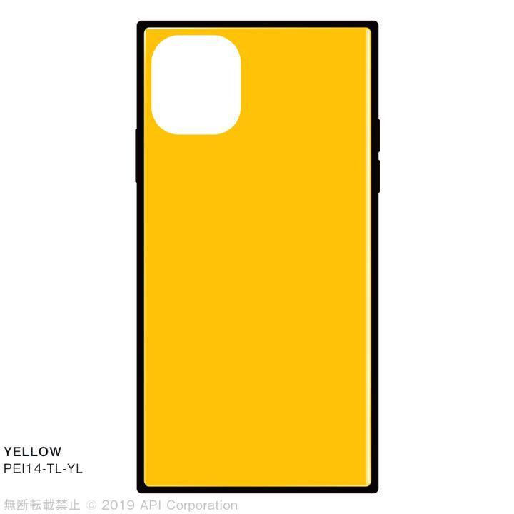 iPhone 11 ケース EYLE TILE スクエア型ケース YELLOW iPhone 11_0