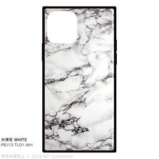 iPhone 11 Pro ケース EYLE TILE スクエア型ケース 大理石 WHITE iPhone 11 Pro