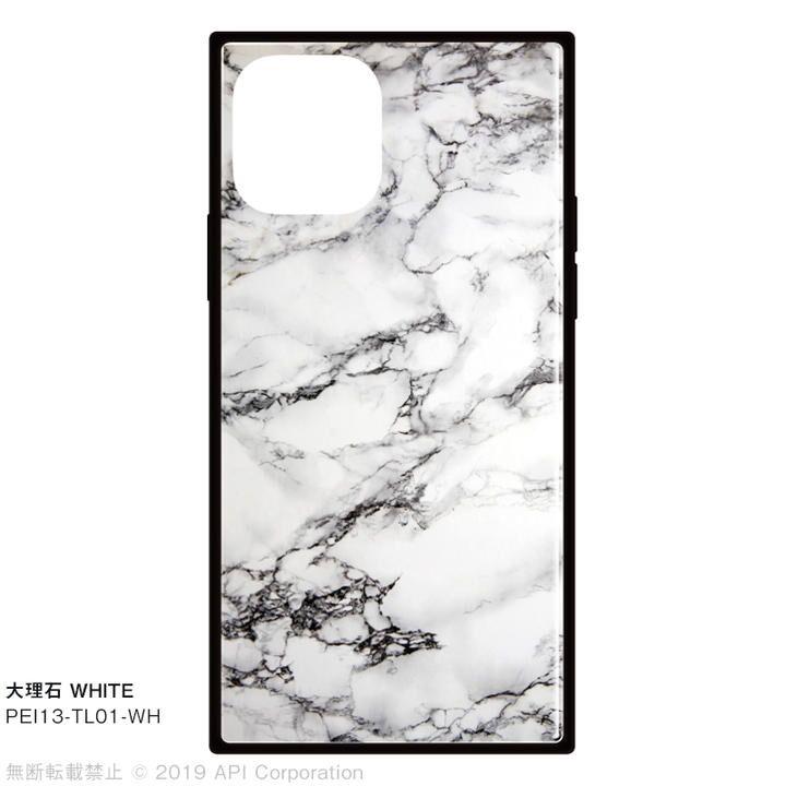 iPhone 11 Pro ケース EYLE TILE スクエア型ケース 大理石 WHITE iPhone 11 Pro_0
