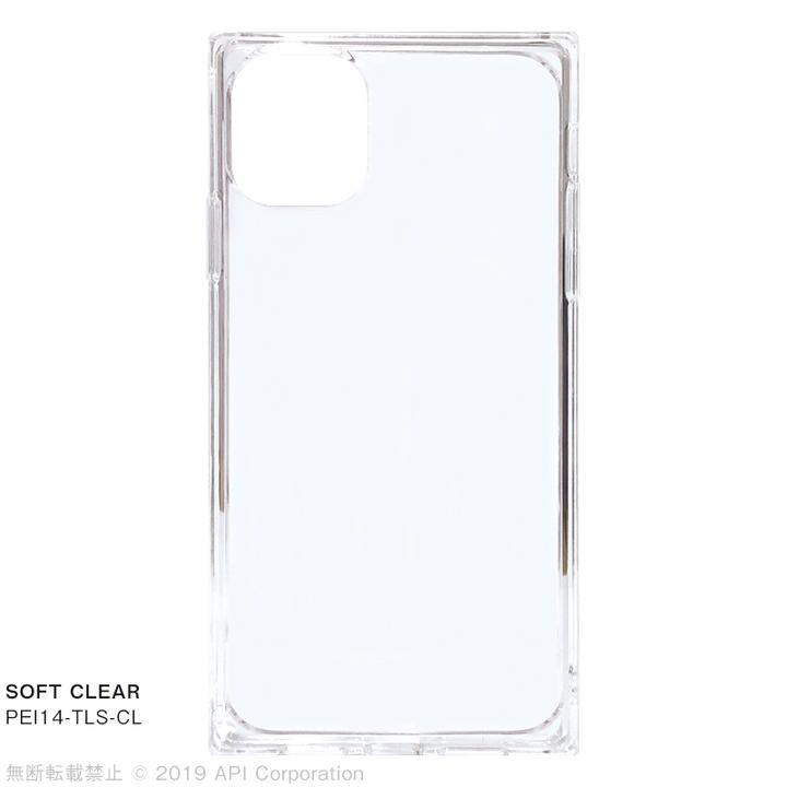 iPhone 11 ケース EYLE TILE SOFT スクエア型ケース CLEAR  iPhone 11_0