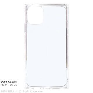 iPhone 11 ケース EYLE TILE SOFT スクエア型ケース CLEAR  iPhone 11