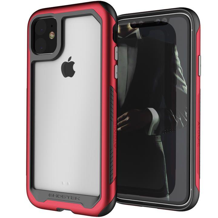アトミックスリム3 iPhoneケース レッド iPhone 11_0
